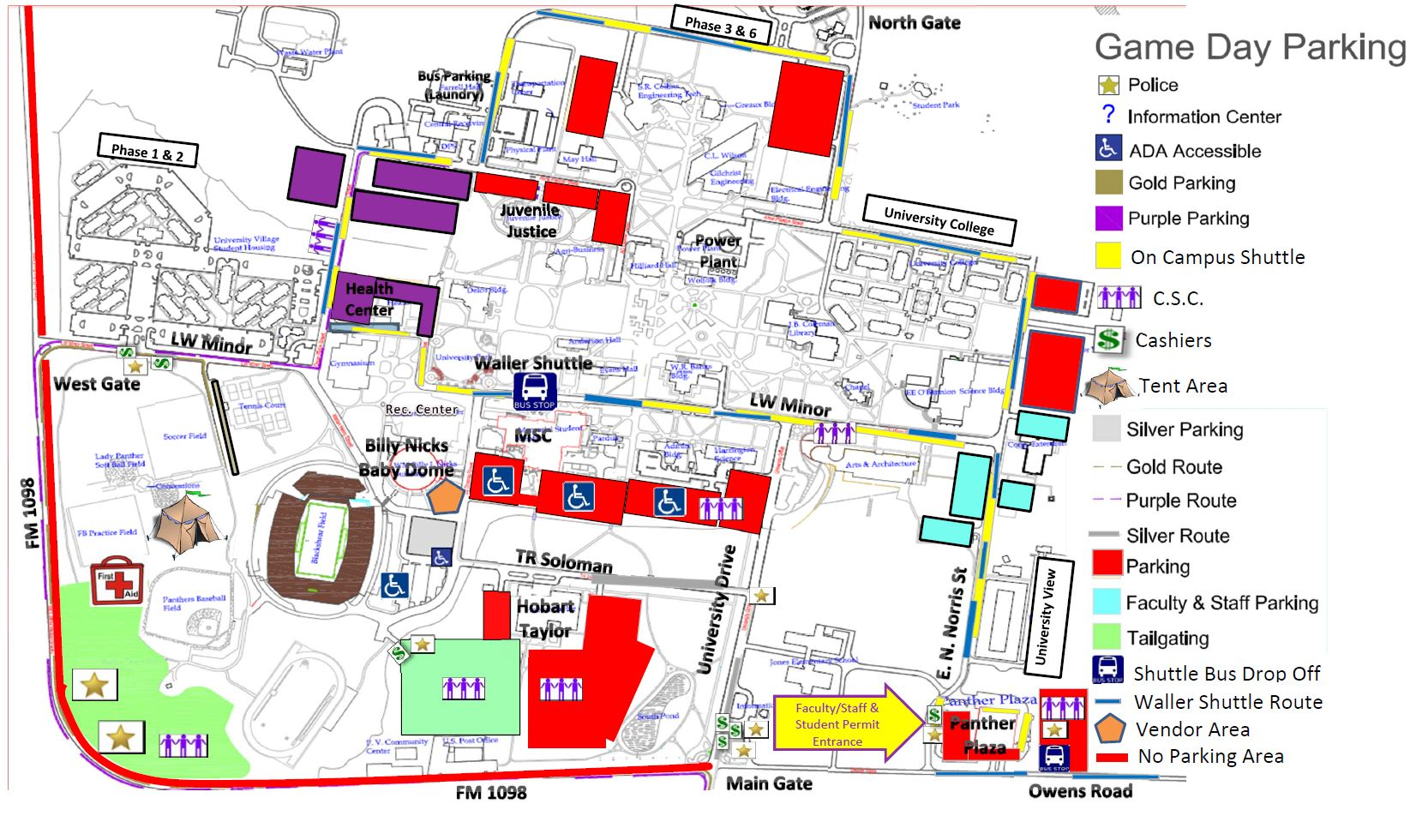 Campus Map Texas Am.Special Events Parking Auxiliary Services