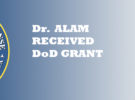 Dr. Shumon Alam Receives Department of Defense Research and Education Program Grant