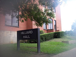 another view of Hilliard Hall