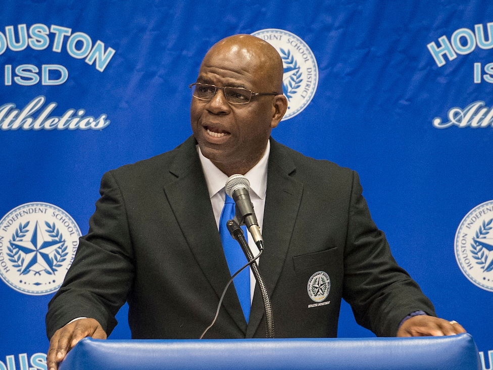 HISD Athletics Director, PVAMU Alumnus Andre' Walker '08 recognized by NIAAA