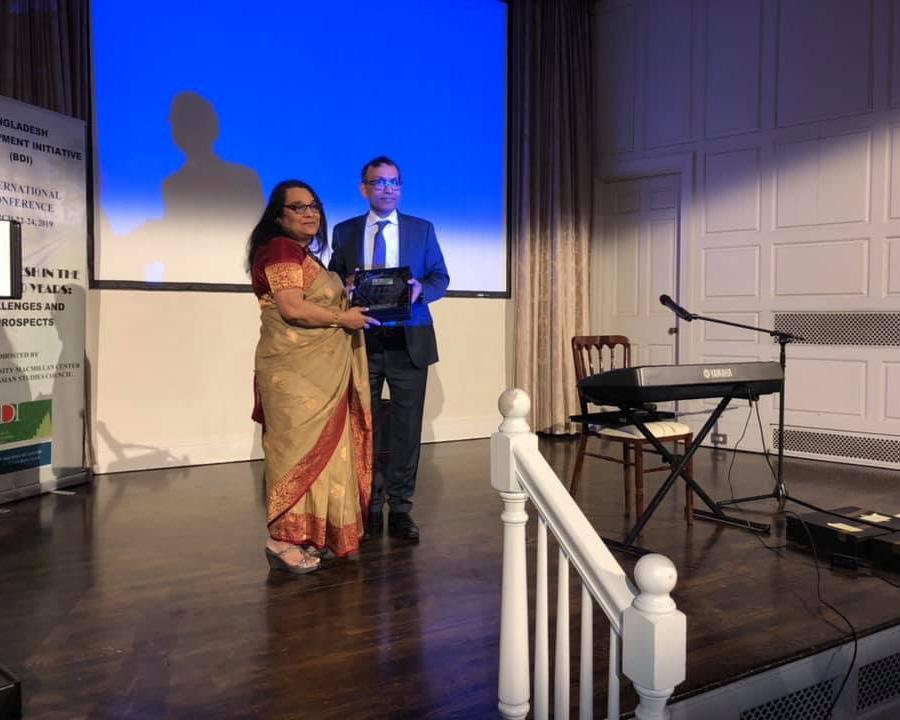 COB Dean Leads Bangladesh Development Initiative