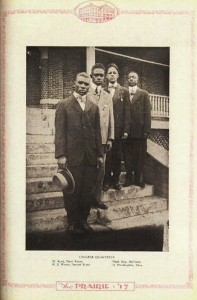 PVAMU Male vocal quartet 1917