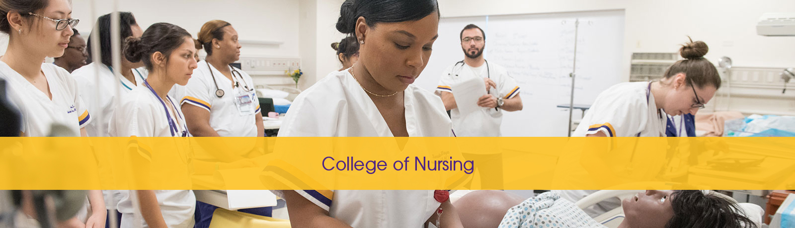 college of nursing banner