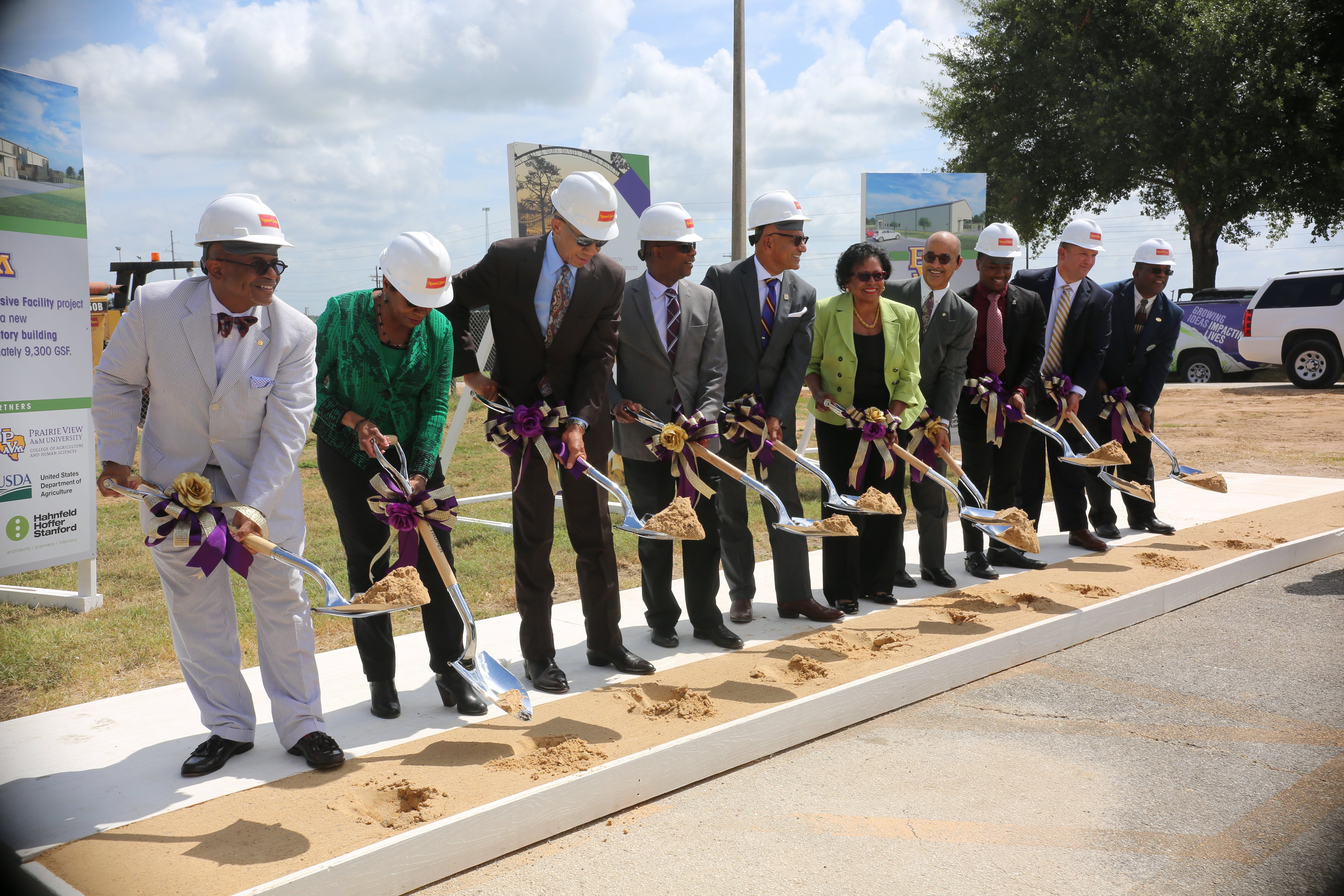 CAHS Revitalizes Its Founding Focus with Groundbreaking of New Meat Lab